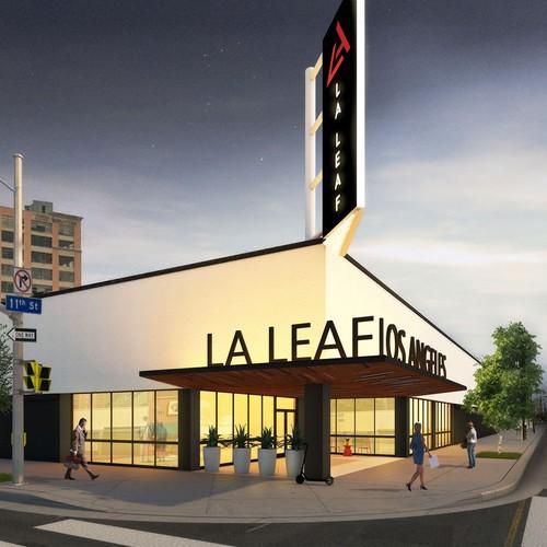 Los Angeles Store Facade