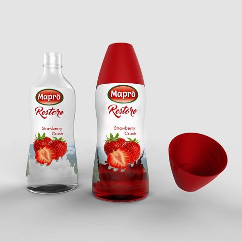 Bottle and label design for Mapro