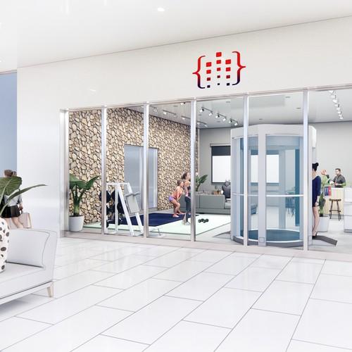 Interior Design of a Shopping Center Store