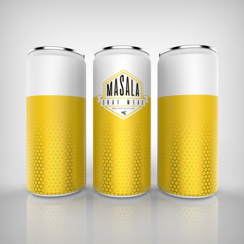 Contest entry for a honey beer