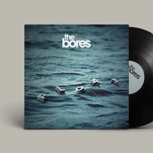 """Album cover for """"Float"""" by The Bores"""