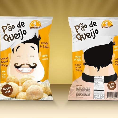 Create eye-catching design for Mr.Cheese bread- a Brazilian company!