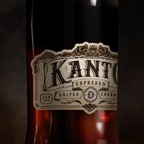 Bottle label for espresso