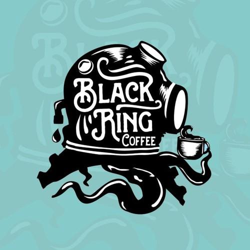 Hip / urban logo for coffee roasting company