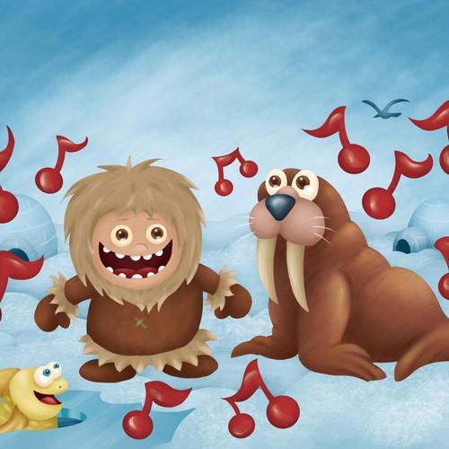 ilustração livro infantil pg 10