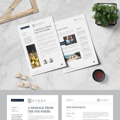 Ethos Partners corporate newsletter