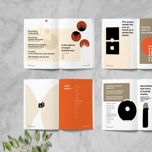 Poetry Collection Layout for Printing