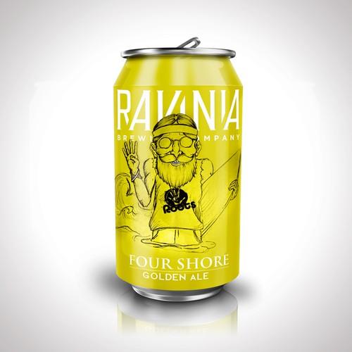 Beer can design for Ravina