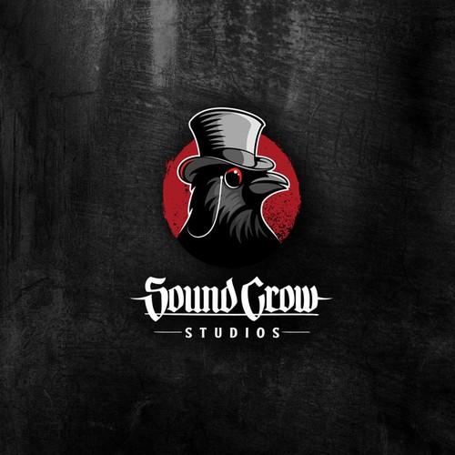 Sound Crow Studios logo.
