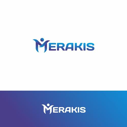 bold logo concept for MERAKIS