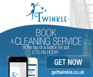 Twinkle app Google display banner