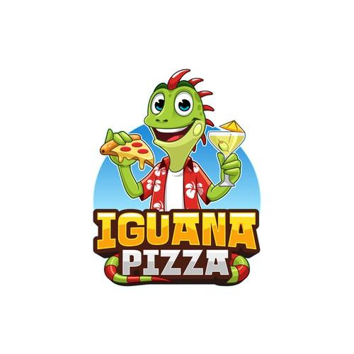 Fun Logo Concept for Pizzeria