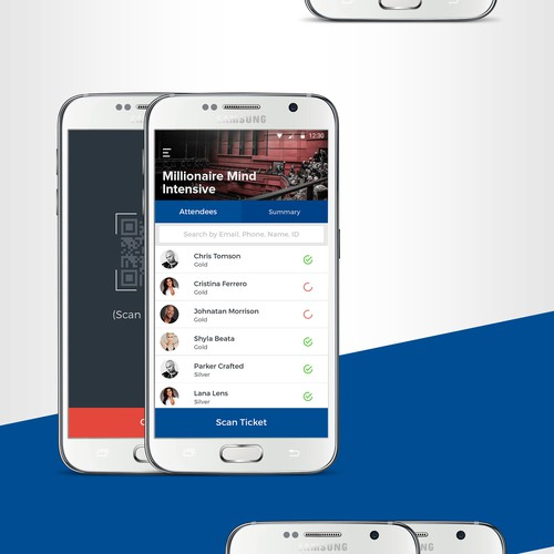 Event Management Mobile App Design