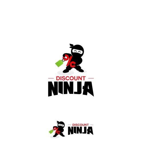 discount ninja logo - forsale