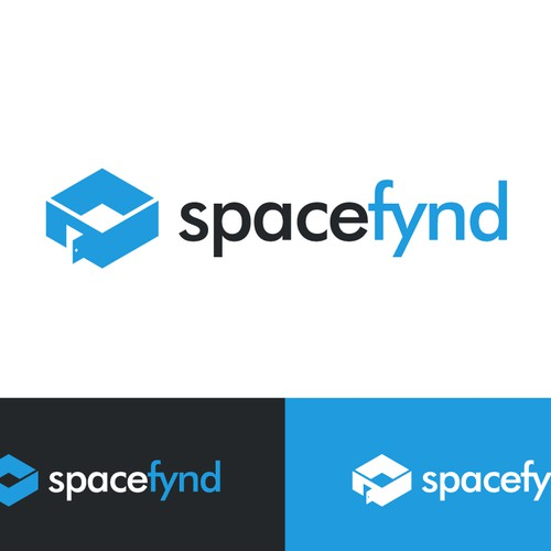 Create a modern, fun, simple, clean and intuitive logo for Spacefynd