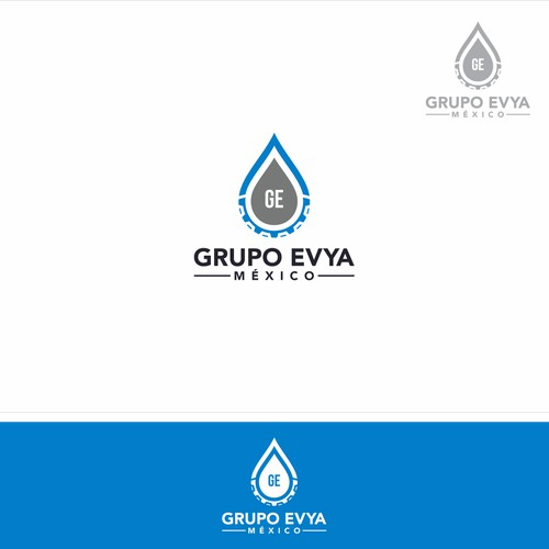 simple logo for Grupo Evya