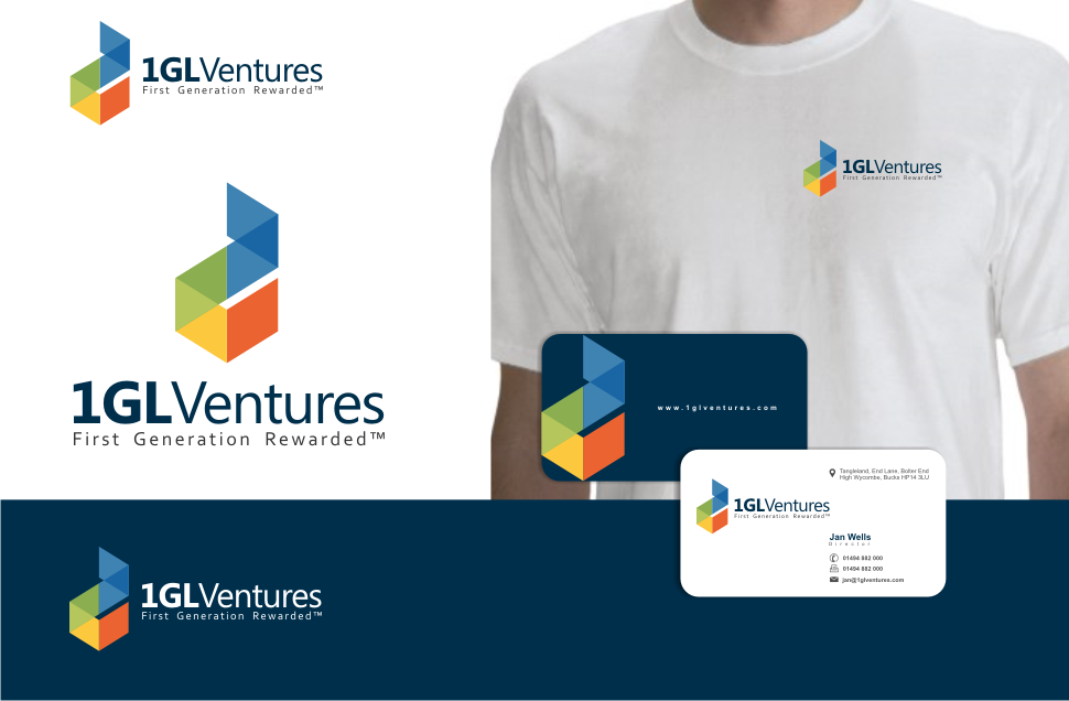 New logo and business card wanted for 1GL Ventures