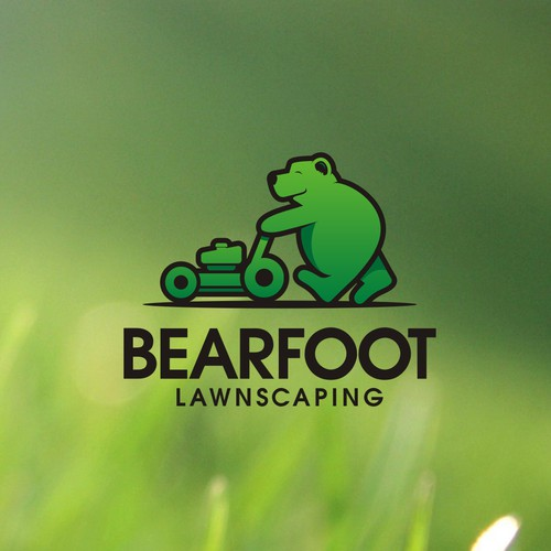 "Design a memorable logo with a play on ""Bearfoot"""