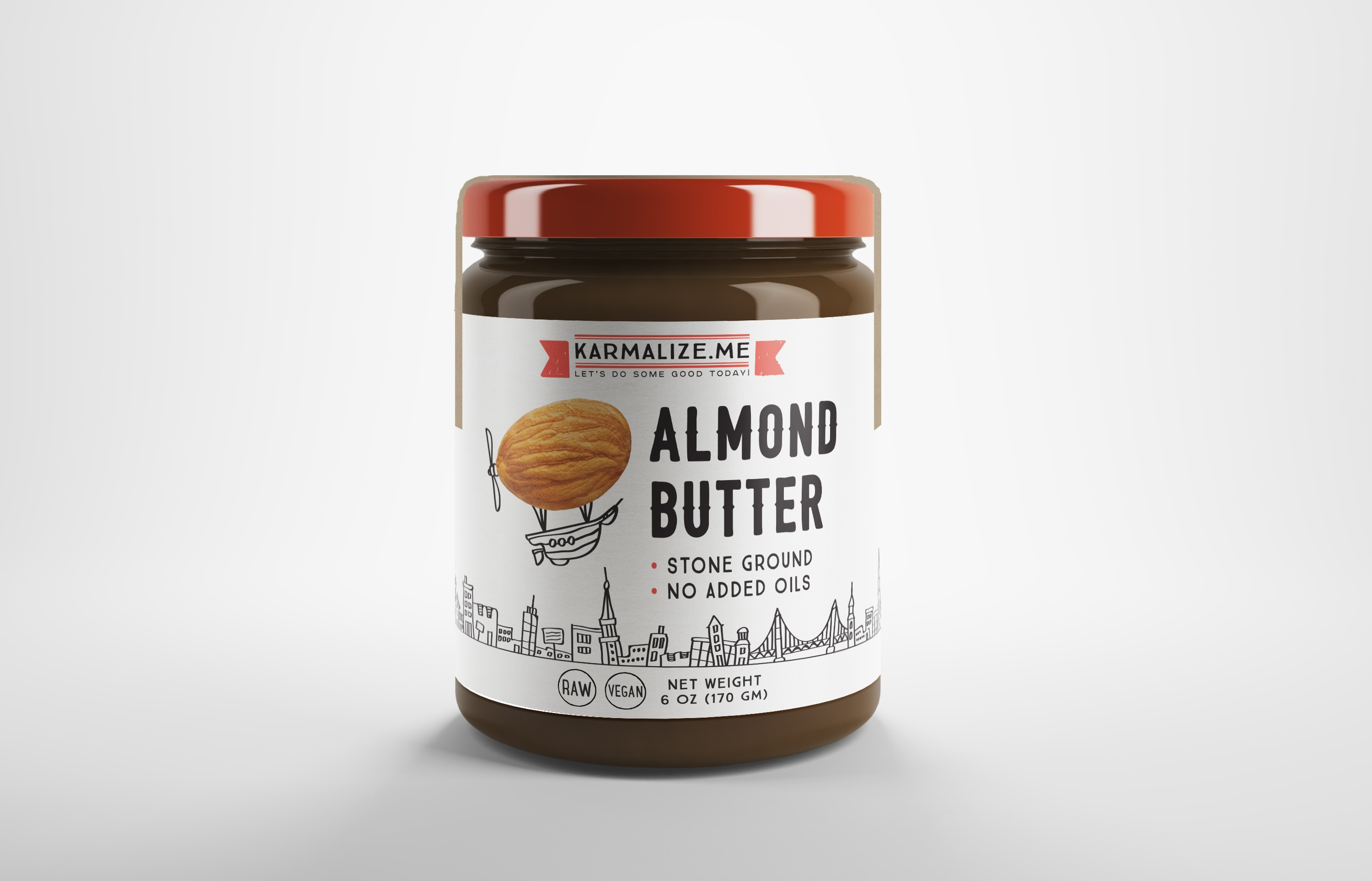 labels for butters, almond milk, posters, ads