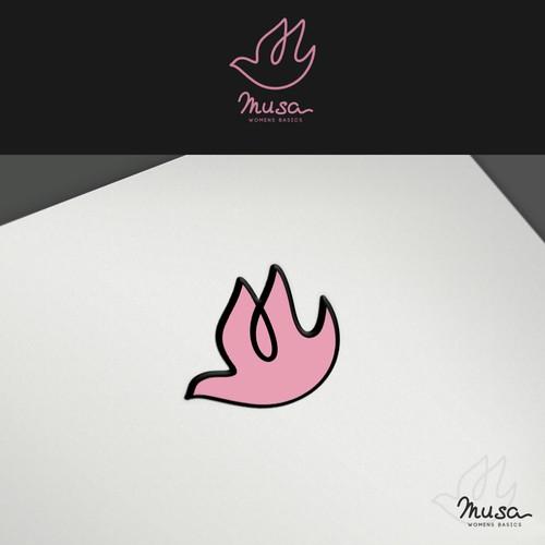 Create a UNIQUE logo for women apparel company.