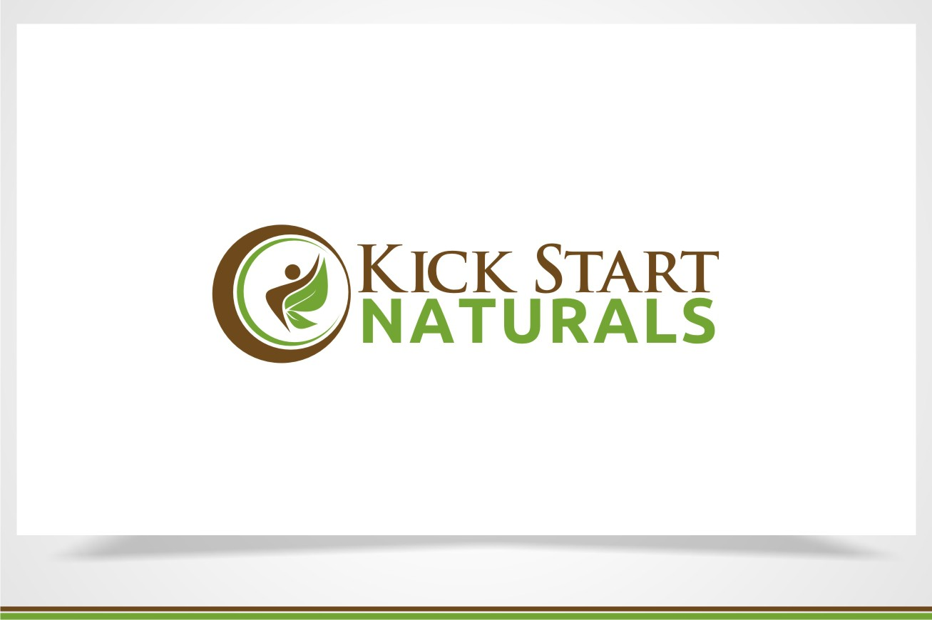 Create a logo for Kick Start Naturals, a health and nutritional supplements company