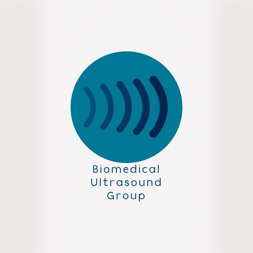 Create logo for a biomedical ultrasound group