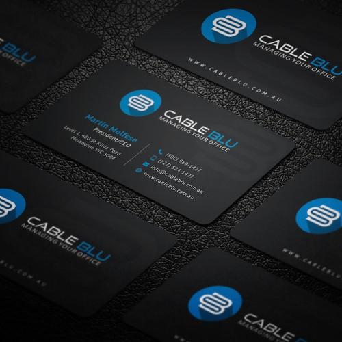 Modern Sleek Business Card