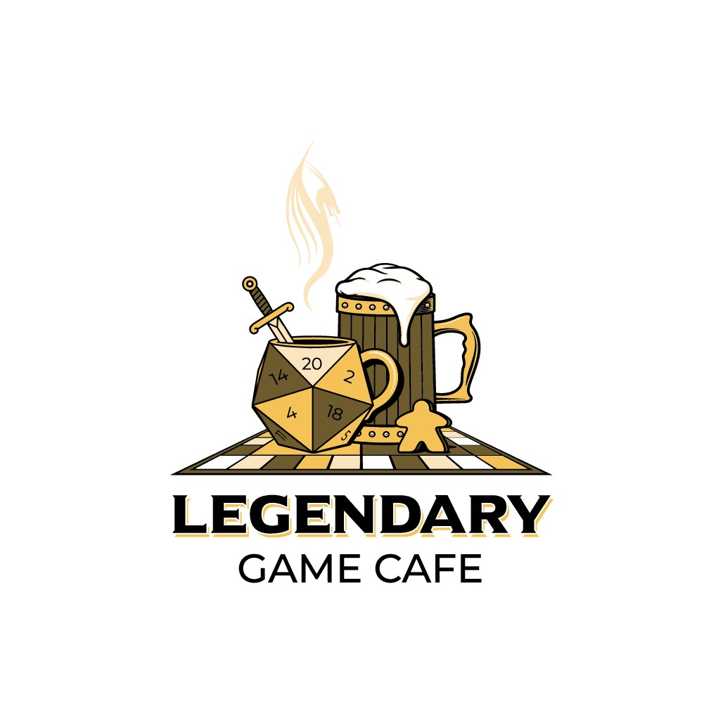 A new board game café needs a legendary logo!