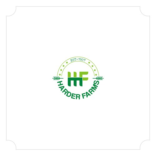 We need a First Ever Logo For Harder Farms - 112 year old Family Farm