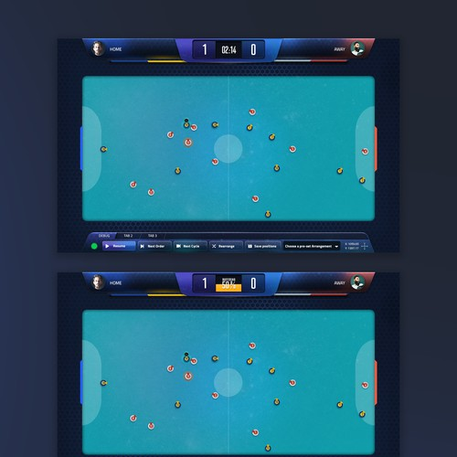 UI for a videogame