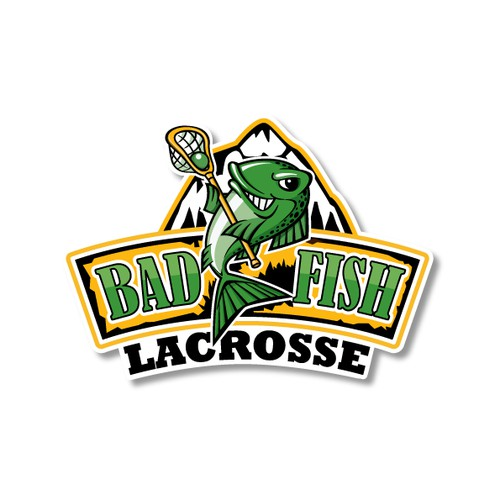 Logo for a Lacrosse Team