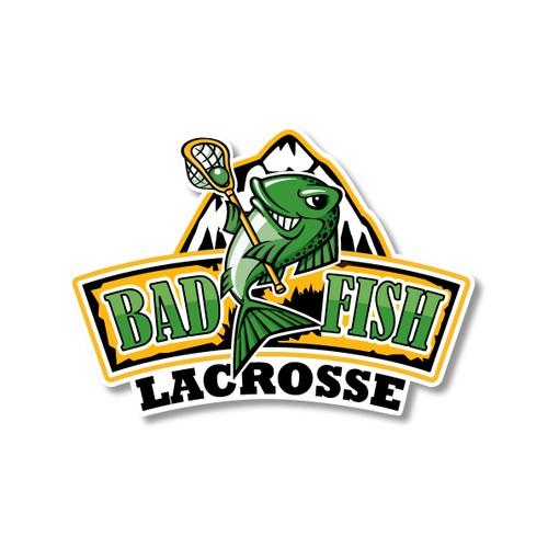 Logo for a Lacrosse Team