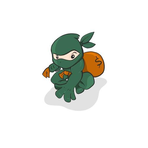 Mascot for RateNinja!