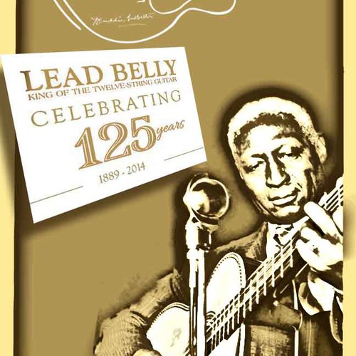 Create a Limited Edition Poster for Rock & Roll Hall of Fame inductee Lead Belly