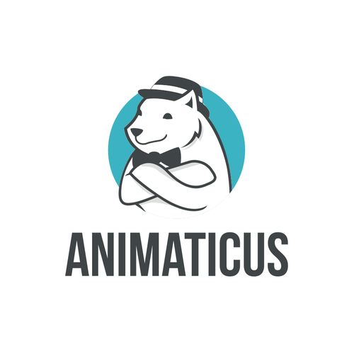 Animation Kids School Logo