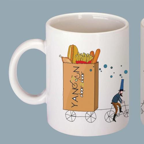 Illustration for mug.