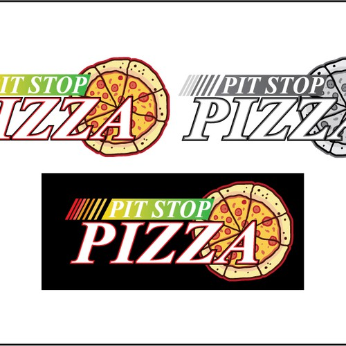 Pit Stop Pizza needs a new logo