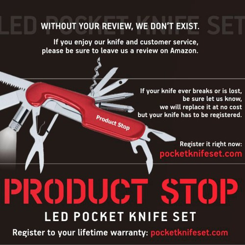 Pocket Knife Package