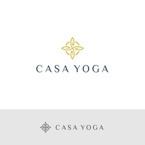 Logo for a Boutique Yoga Retreat