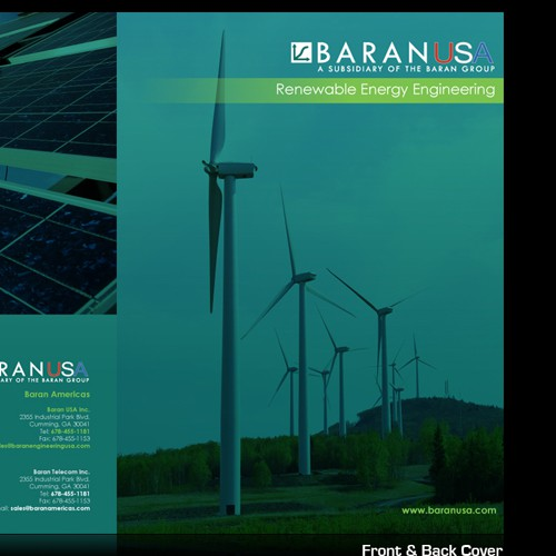 Baran USA inc. needs a new print or packaging design