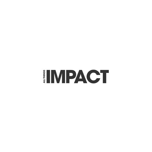 Identity design for All Thing Impact