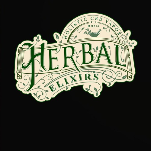 Logo for CBD vapor product