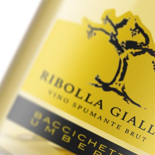 """Sparkling wine """"Ribolla Gialla"""""""