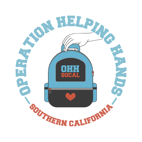 Logo design for Operation Helping Hands SoCal