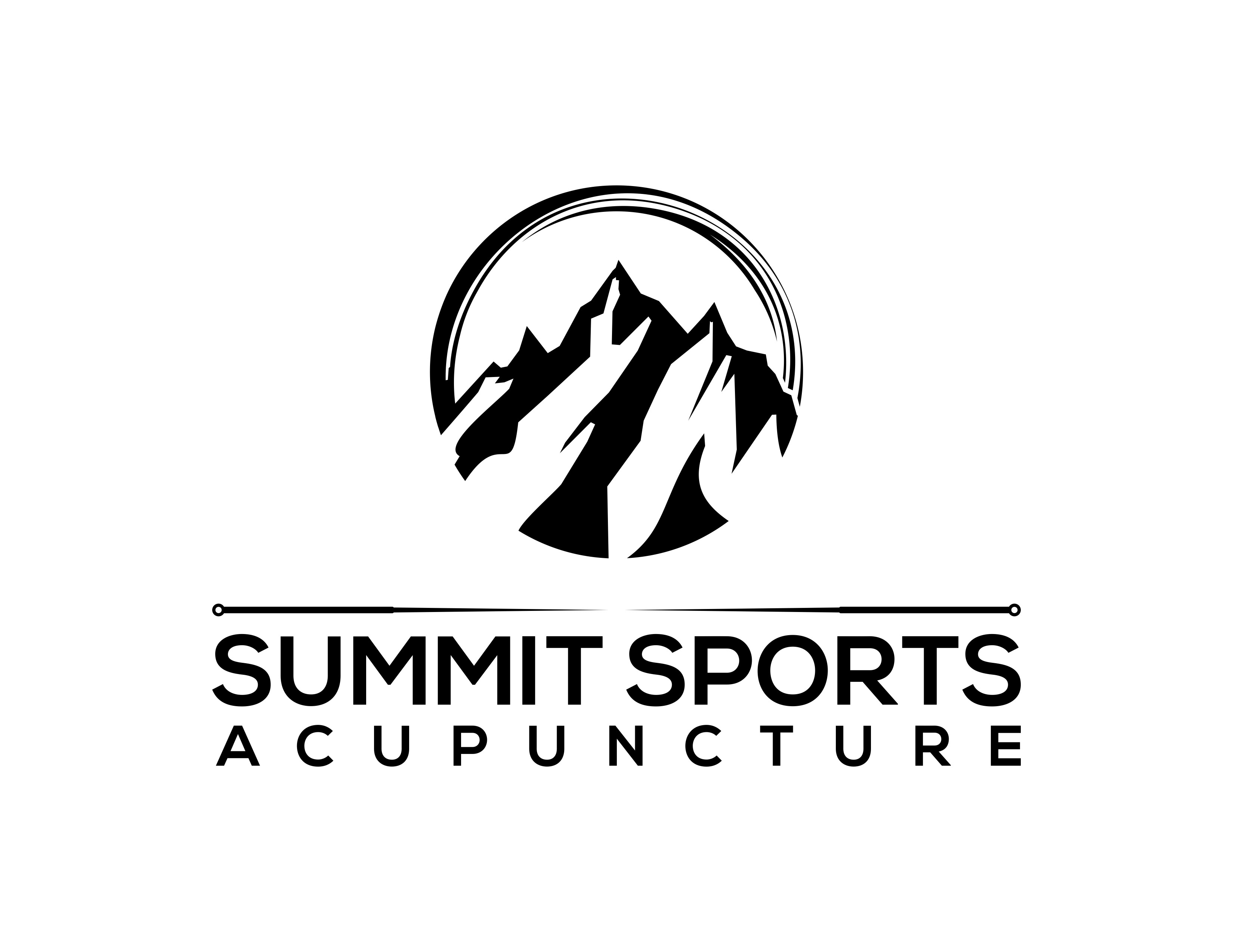 Mountain based Acupuncture and Sports Medicine Clinic Needs Great Logo