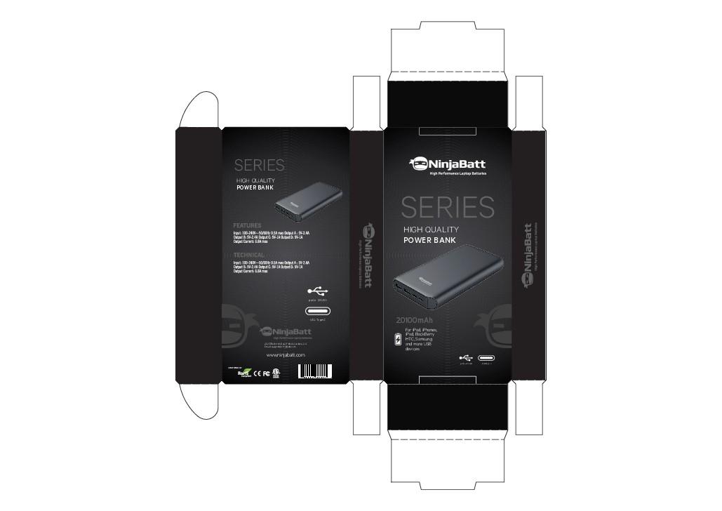 *New powerBank package design*