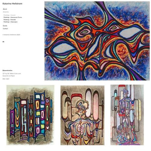 Website - Artist (Paintings)