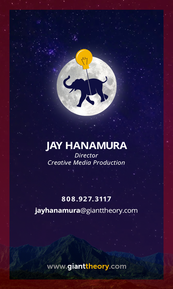 Giant Theory Business Card Design