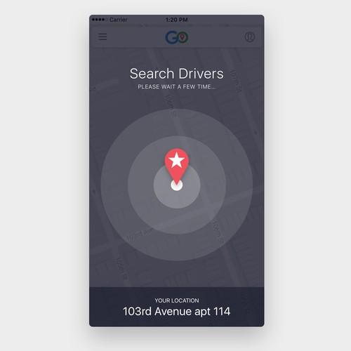 waiting screen app design