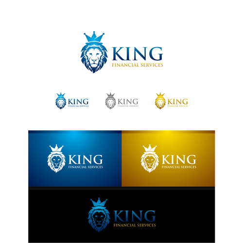 lion concept for KING financial services
